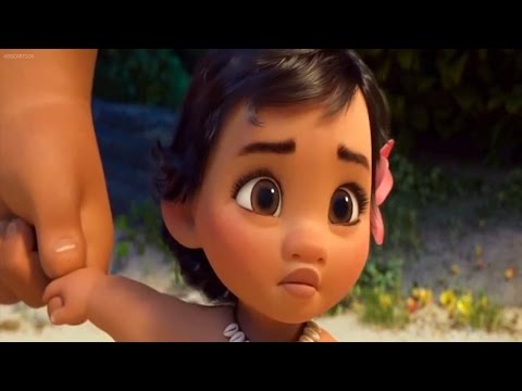 moana-baby-riding-water-wave-cute-clip-puzzle-movie-2017