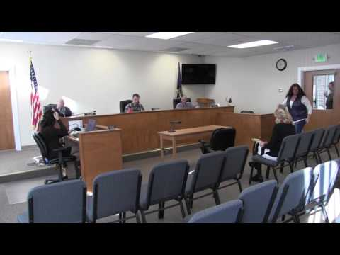 Lake County Commissioners works session part two 1-17-2017