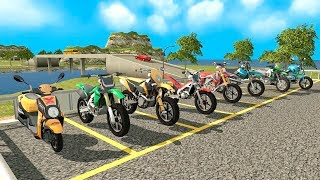 Bike Racing Games - Furious City Moto Bike Race 2 - Gameplay Android free games