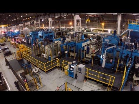 Inside Tata Steel's Heavy Gauge Decoiling Operation