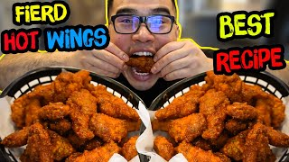 The Perfect FRIED HOT WINGS
