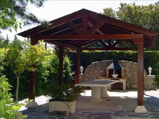 """Cenadores y gazebos de madera """"algunos diseñadores exterioristas ..."""
