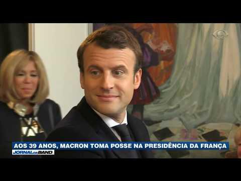 Macron toma posse neste domingo na França