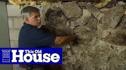 How to Repoint a Stone Foundation