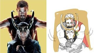 Funny Thorki Comics   That Will Make You Laugh And Then Cry   Funny Comics [PART 17]