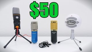 Top 5 Best Budget Mics Under $50 | 2016