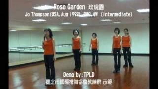 Rose Garden 玫瑰園 linedance CD 7-10 Th n Demo