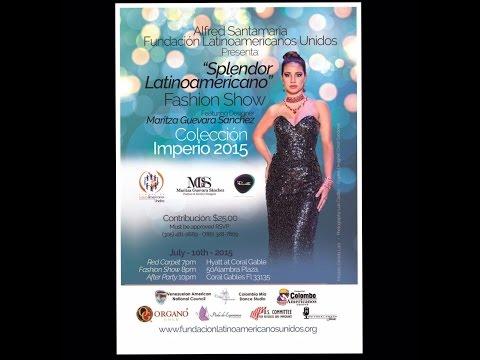 Alfred Santamaria. Fundación Latinos Americanos Unidos. Maritza Guevara S.