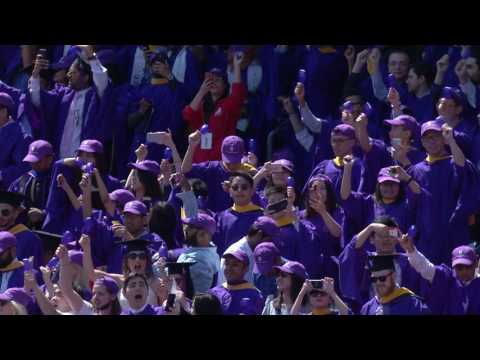 NYU Commencement  2017--Highlights