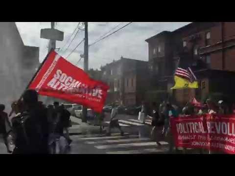 Socialist Alternative at 2016 DNC