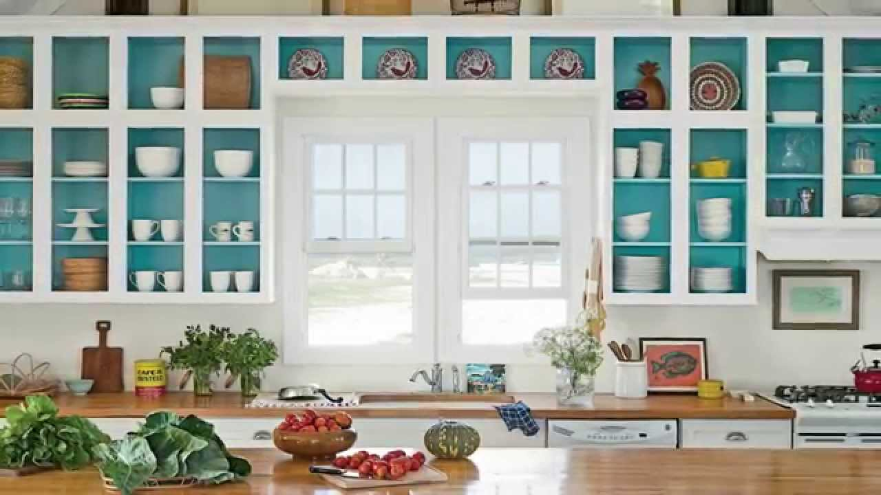Kitchen Cabinet Paint Ideas | Seaside Design | Coastal Living - YouTube