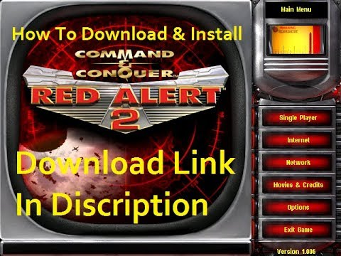 How To Download And Install C C Red Alert 2 Full Youtube
