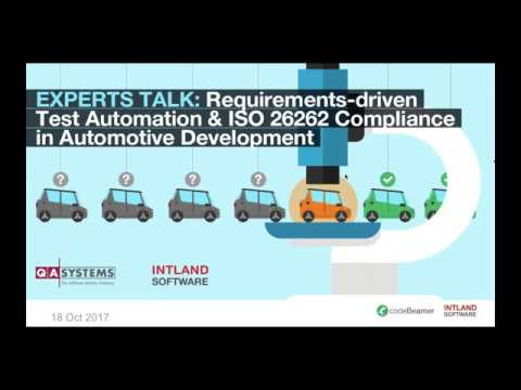 Experts Talk: Requirements-driven Test Automation & ISO 26262 Compliance in Automotive Development