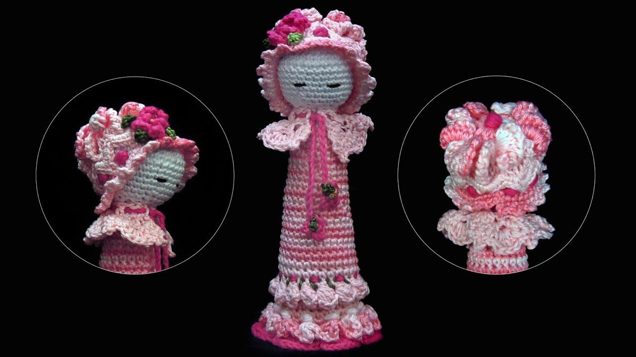 Baby Rassel In Rosa Crochet Häkeln Youtube