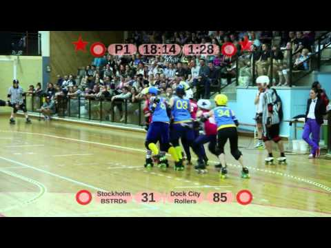 BSTRDs vs. Dock City Rollers part 1