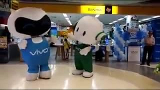 Badut oppo vs vivo dance funny