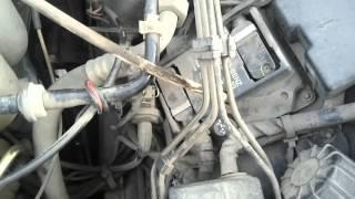 Mersedes W124 E200 M111, нестабильная работа двига