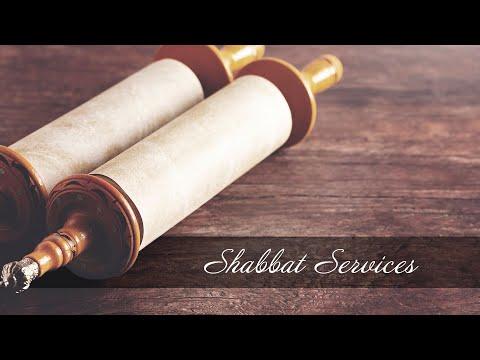 Sukkot Shabbat Service 10/3/2020