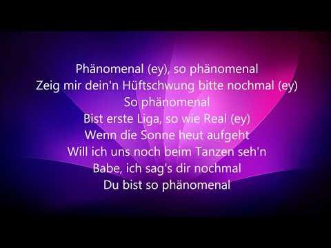 Phänomenal -- Pietro Lombardi (Lyrics)
