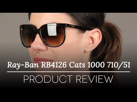 Ray Ban Rb4126 Cats 1000 Sunglasses 710 51 Review Youtube
