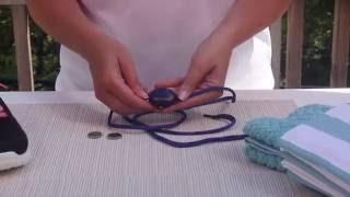 Replacing Battery - L.E.D. Shoelaces