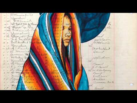 Return from Exile artist Dylan Cavin (Choctaw)