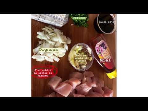 recette-:-«-poulet-sauce-aigre-douce-»-/-les-recettes-d'elisa
