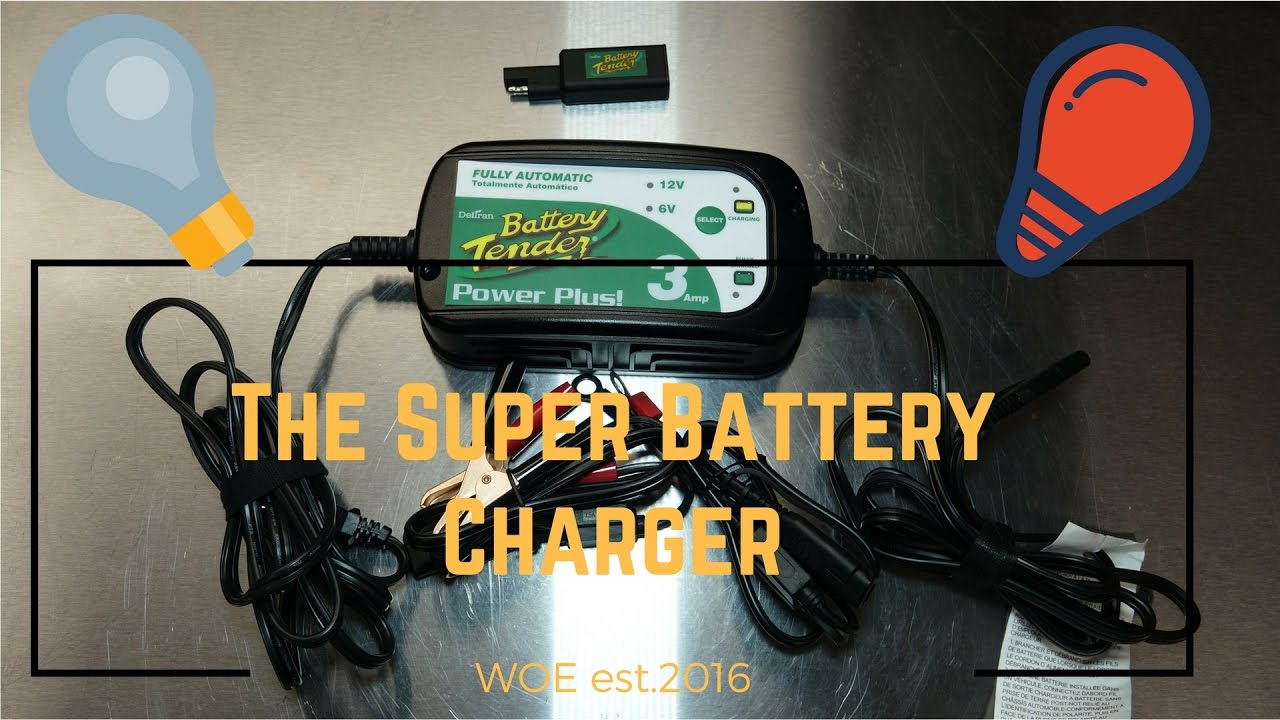 Battery Tender The Best Car Truck Or Motorcycle Battery Charger