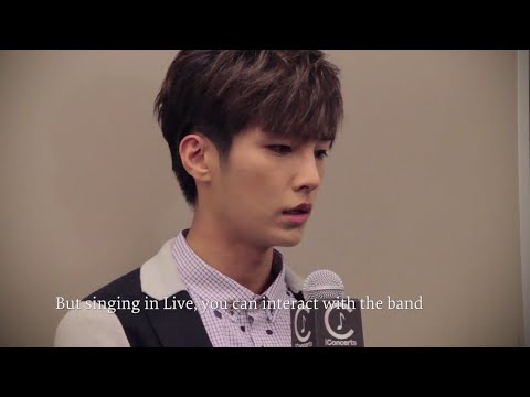 Aaron Yan iConcert Interview & LIVE Extract [ENGLISH SUBBED]