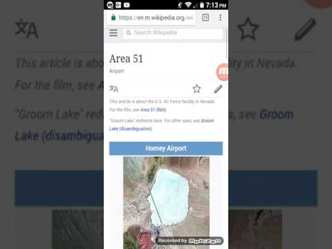 Area 51 real? (Investigating through the internet)