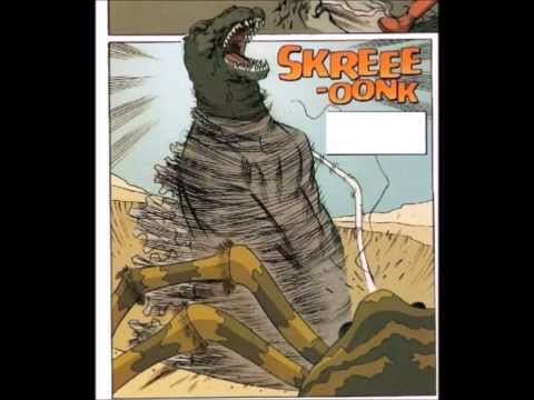 Godzilla Vs Kumonga!Comic Vs Movie!
