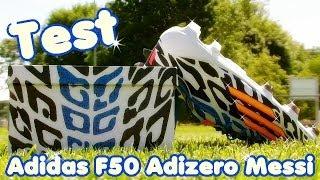 Test Messi Fußballschuhe: Adidas F50 Adizero FG WC