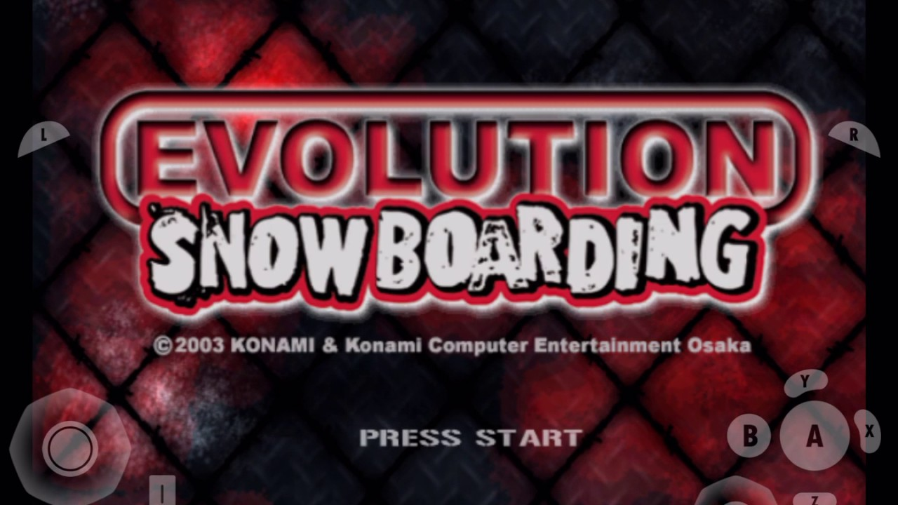 Download gamecube for ios- Evolution Snowboarding (Gameplay