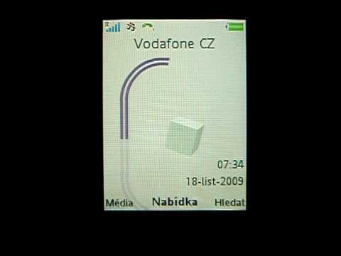 Sony Ericsson Yari: prostředí telefonu