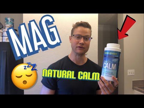 Natural Calm Magnesium Review - Anti - Stress Drink From Natural Vitality | Ionic Magnesium