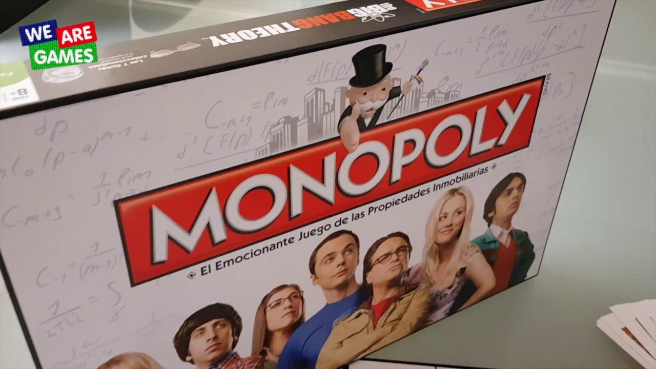 Monopoly The Big Bang Theory (en castellano) - UNBOXING
