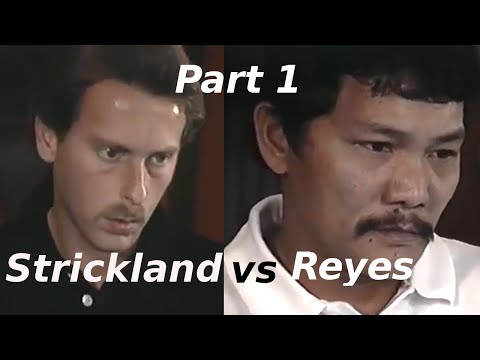 Efren Reyes vs Earl Strickland $100,000 The Color of Money Challenge Match Part 1 of 5