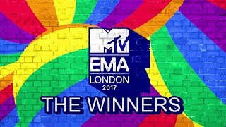 MTV EMA 2017 | ALL WINNERS