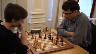 Dubov vs Anand | Tal Memorial Blitz 2018