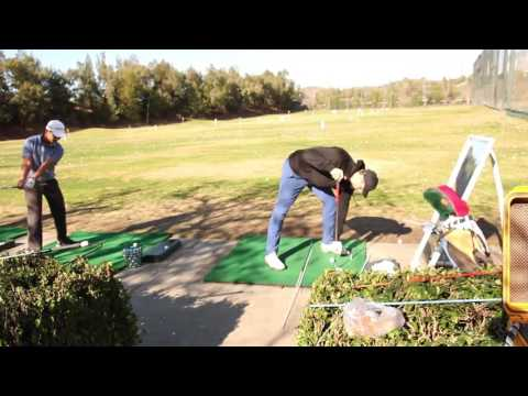 Golf Instruction: Over the Shoulder lesson with Top Ranked Junior