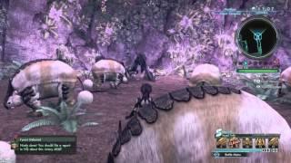 Xenoblade Chronicles X - Lugalbanda, the Wanderer-King On Foot Solo (Dual Guns/Photon Saber)