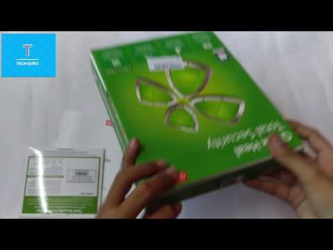 Quick Heal Total Security 2PC / 1 Year CD Unboxing