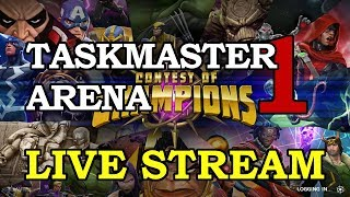 Taskmaster Arena - Part 1 | Marvel Contest of Champions Live Stream