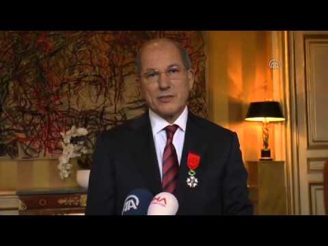 Ahmet Uzumcu receives Legion d'Honneur in Paris