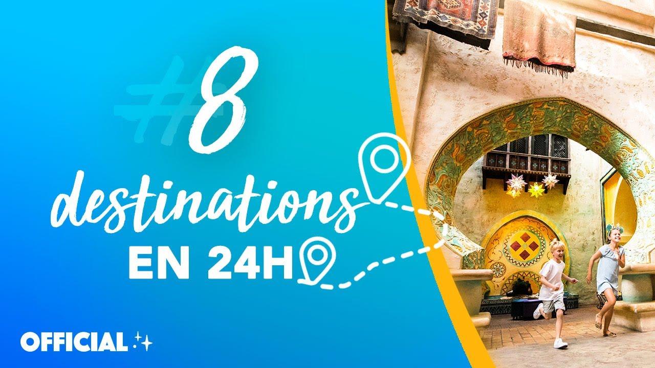 Disneyland Paris - 8 destinations en 24 h à Disneyland Paris 🌏