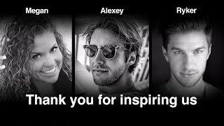 Celebrating Ryker, Alexey, and Megan