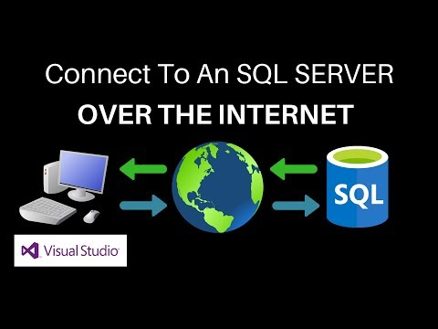 VB.NET How To Connect To An SQL Server Over The Internet.