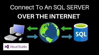 Gambar cover VB.NET How To Connect To An SQL Server Over The Internet.