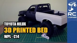 WPL C14 - 3D Printed Bed | RC offroad adventure