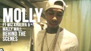 Tyga - Molly Ft. Wiz Khalifa & Mally Mall [MUSIC VIDEO behind the scenes]